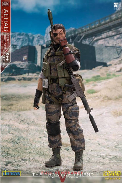 1/12 Scale Aehab Tiger Stripe Figure (S++ Version) by LIMTOYS LiMiNi