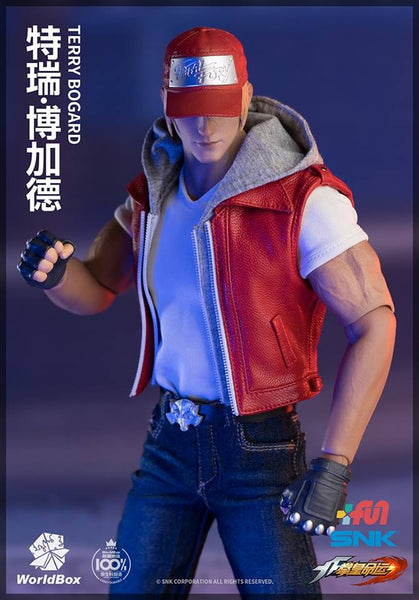 1/6 Scale The King of Fighters - Terry Bogard Figure by Worldbox