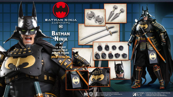1/6 Scale Batman Ninja Figure (Deluxe War Version) by Star Ace Toys