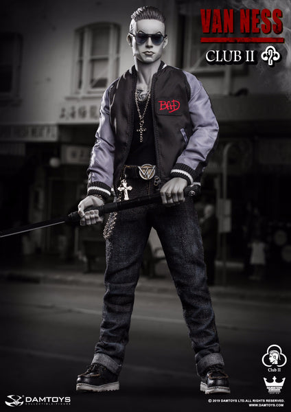 1/6 Scale Gangsters Kingdom - Van Ness Figure (Grey Special Edition) by DamToys