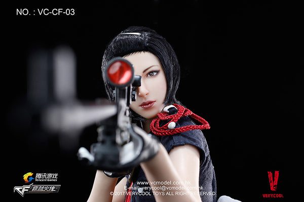 1/6 Scale Defender of Fox Legend Figure by VeryCool
