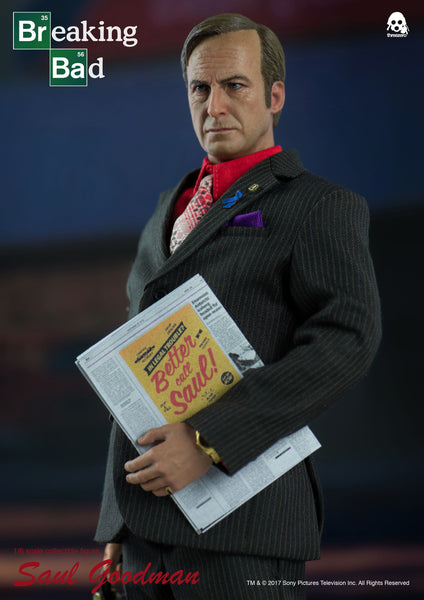 1/6 Scale Breaking Bad Saul Goodman Figure by Threezero