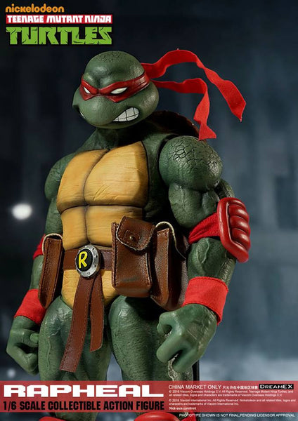 1/6 Scale Raphael Teenage Mutant Ninja Turtle Figure by DreamEX