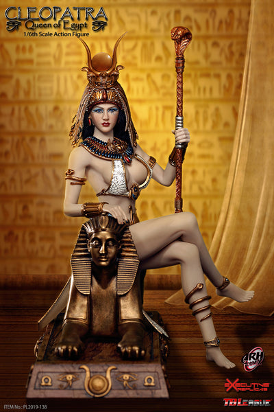 1/6 Scale Cleopatra Queen of Egypt Figure by TBLeague