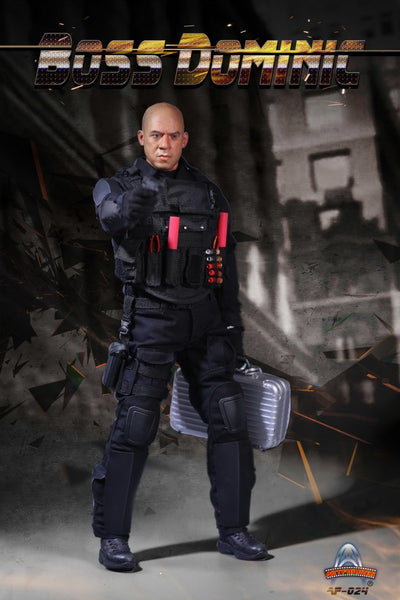 1/6 Scale Furious Boss Dominic Figure by Art Figures