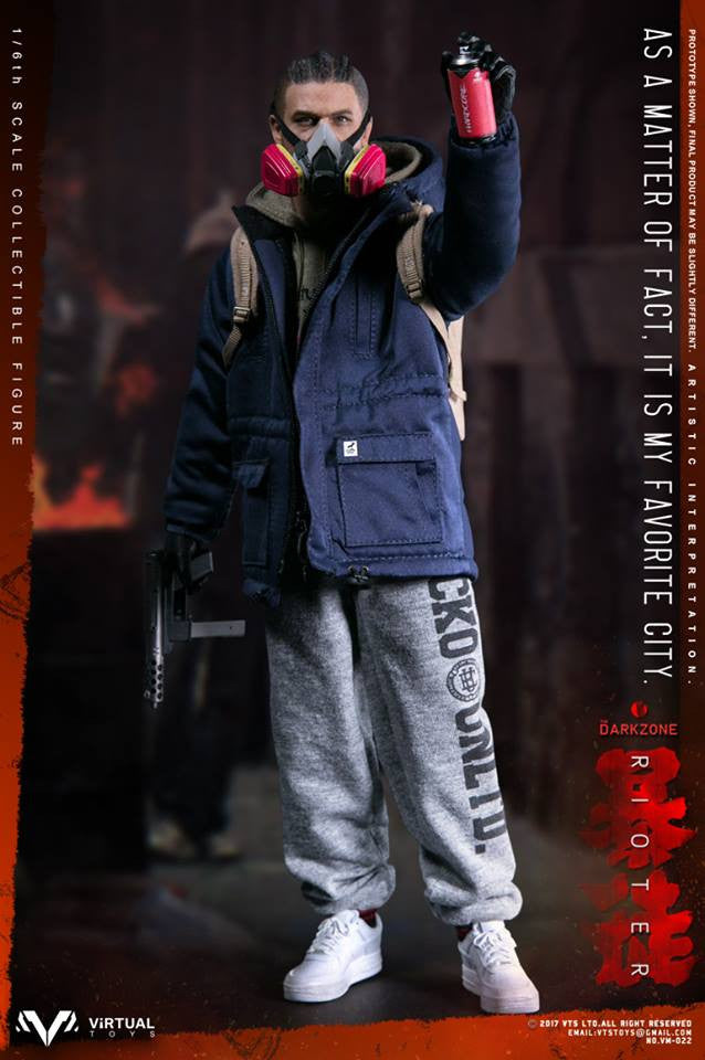 Virtual Toys The Dark Zone Rioter Figure Stand loose 1//6th scale