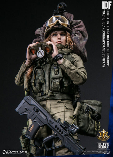 "1/6 Scale IDF Combat Intelligence Collection Corps ""Nachshol"" Reconnaissance Company Figure by DamToys"