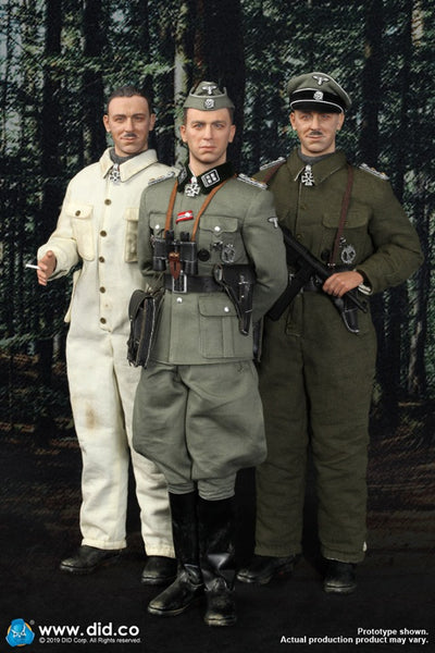 1/6 Scale SS Obersturmbannführer Kurt Meyer Figure by DID