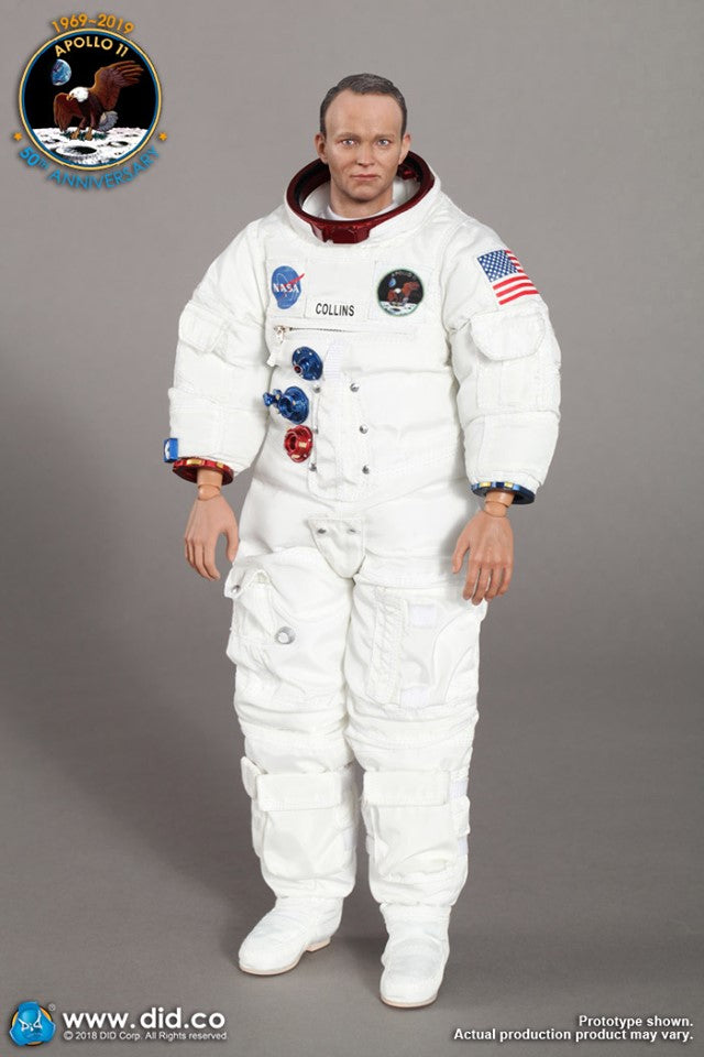 1/6 Scale Apollo 11 Command Module Pilot - Michael Collins Figure by DID