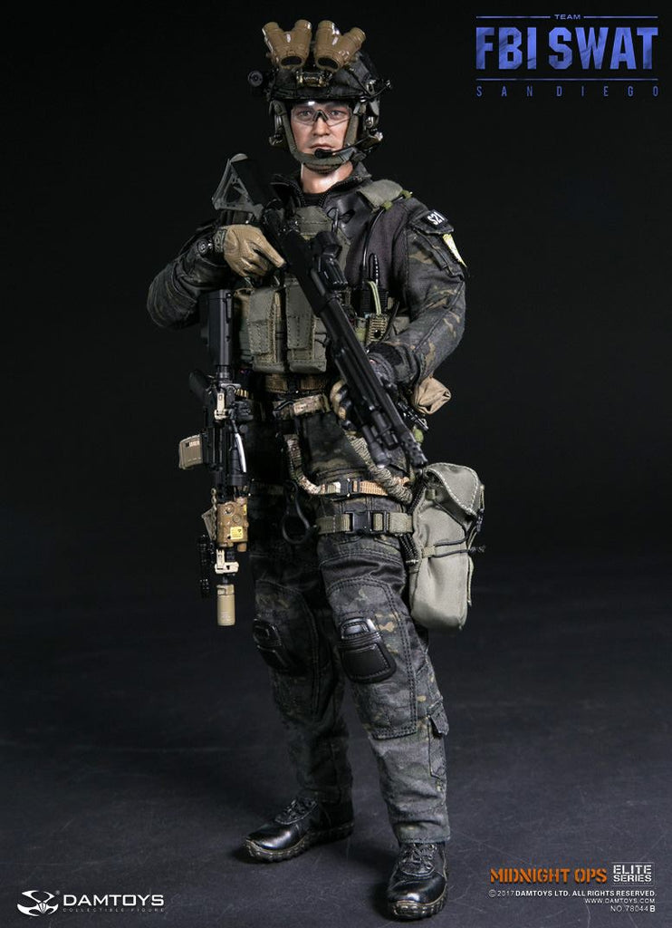 San Diego SWAT Flashbang w// Pouch 1//6 Scale Damtoys Action Figures