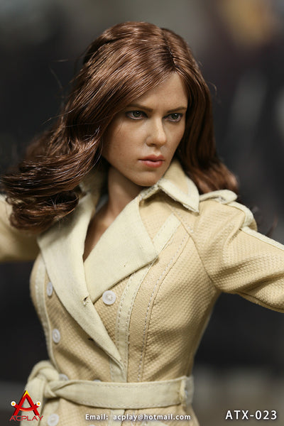 1/6 Scale Civil War BW Undercover Set Figure by AC Play