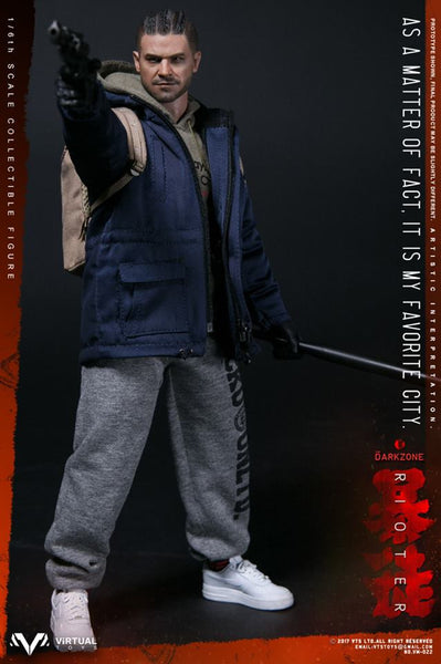 1/6 Scale The Darkzone Rioter Figure by Virtual Toys VTS