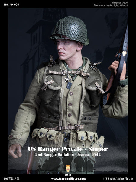 1/6 Scale US Ranger Private Sniper Figure (Special Edition) by FacePool
