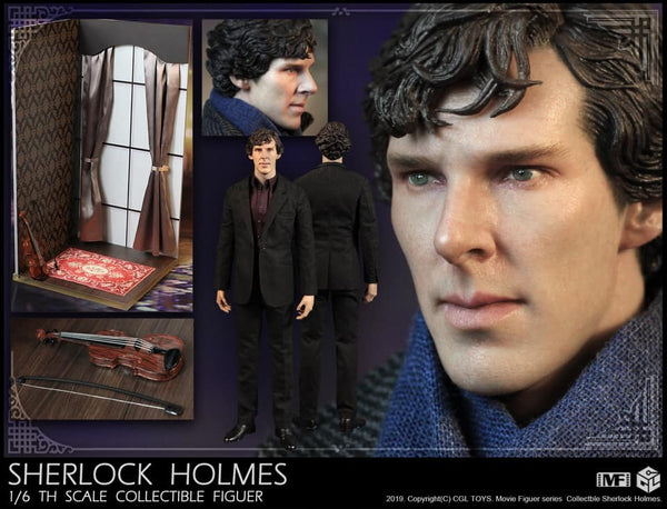 1/6 Scale Sherlock Holmes Figure by CGL Toys