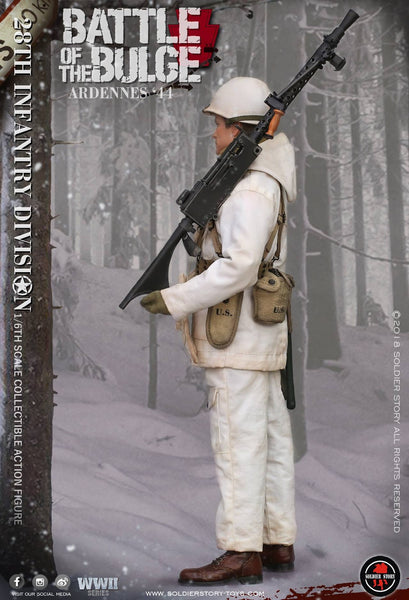 1/6 scale U.S. Army 28th Infantry Division Ardennes 1944 Figure (SS111) by Soldier Story