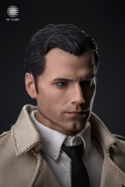 1/6 Scale News Reporter Figure by PU Studios