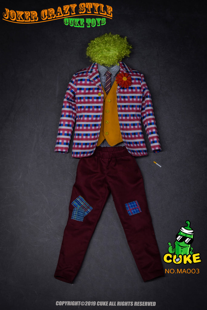 1/6 Scale Joker Clown Outfit by Cuke Toys