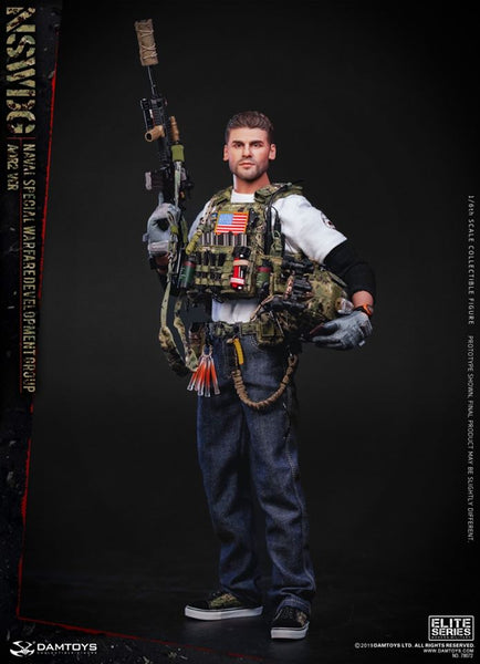 1/6 Scale NSWDG US Naval Special Warfare Development Group - AOR2 Ver. Figure by DamToys