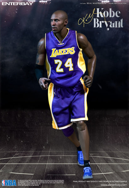 1/6 Scale Kobe Bryant NBA L.A Lakers 2 Pack Figures By Enterbay