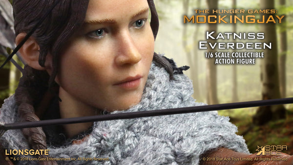 1/6 Scale The Hunger Games: Mockingjay Katniss Everdeen Figure (Hunting Version) by Star Ace Toys