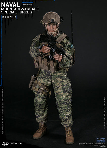 1/6 Scale Naval Mountain Warfare Special Forces Figure by DamToys
