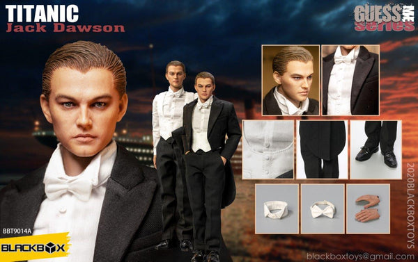 1/6 Scale Jack Figure Set Bundle (Hero & Tuxedo Version) by BlackBox Toys