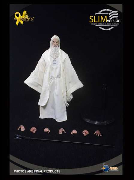 1/6 Scale Saruman The White (MEMORIAL SLIM VERSION) Figure by Asmus Toys