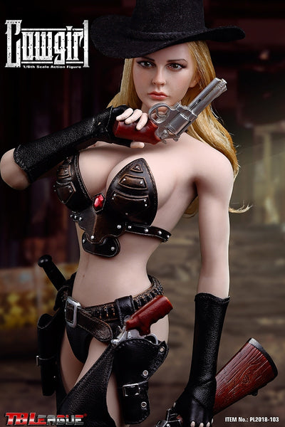 1/6 Scale Cowgirl Figure by TBLeague