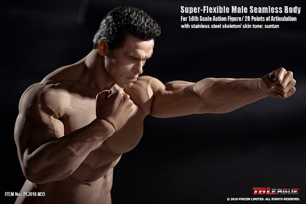 1/6 Scale M35 Super Flexible Male Seamless Body by TBLeague