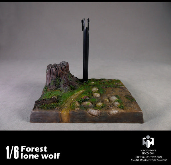 1/6 Scale Forest Lone Wolf Figure by HY Toys