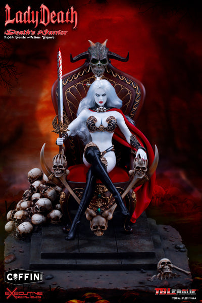 1/6 Scale Lady Death: Death's Warrior 2.0 Deluxe Figure by TBLeague