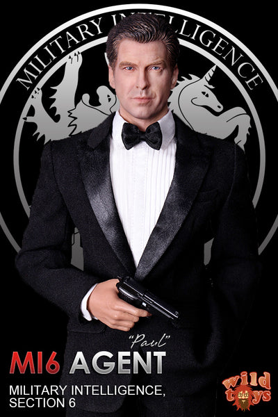 1/6 Scale MI6 Agent Paul Figure Set by Wild Toys