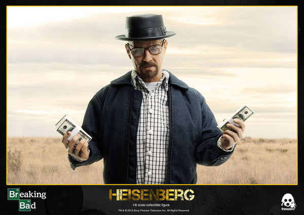 1/6 Scale Breaking Bad Walter White Heisenberg Figure by Threezero