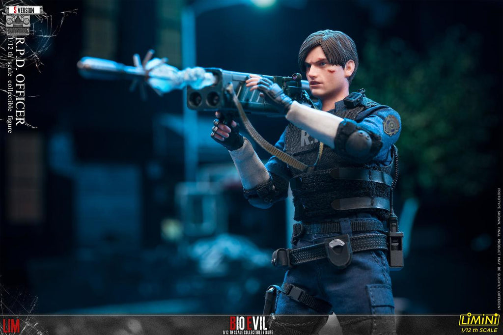 LIMTOYS LiMiNi 1//12 RPD Police Officer Resident Evil Lyon S Ver Figure Model Toy