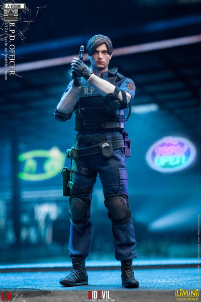 1/12 Scale Bio Evil R.P.D Officer Figure (A Version) by LIM Toys