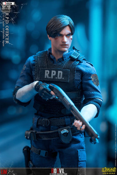 1/12 Scale Bio Evil R.P.D Officer Figure (S Version) by LIM Toys