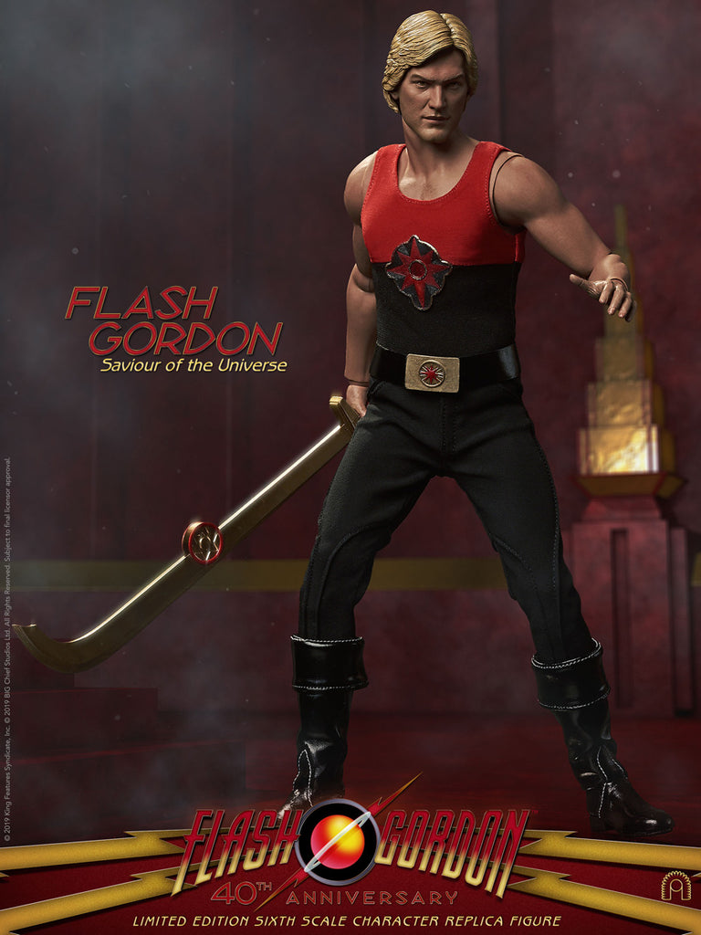 1/6 Scale Flash Gordon - Savior of the Universe Figure by Big Chief Studios