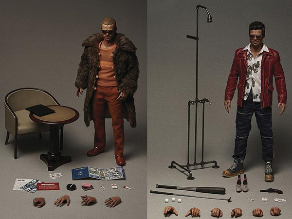 1/6 Scale Tyler Durden Fight Club Limited Edition 2 Pack Figures by Blitzway