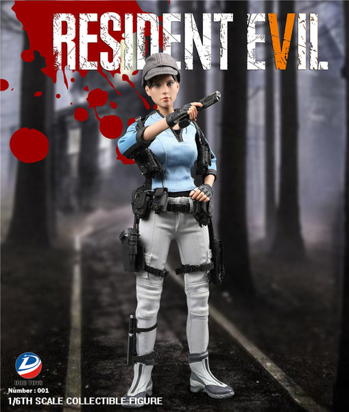 1/6 Scale RE5 BSAA Valentine Figure by DIIBTOYS