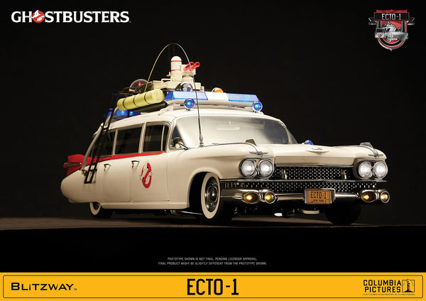 1/6 Scale Ghostbusters 1984 ECTO-1 Vehicle by Blitzway