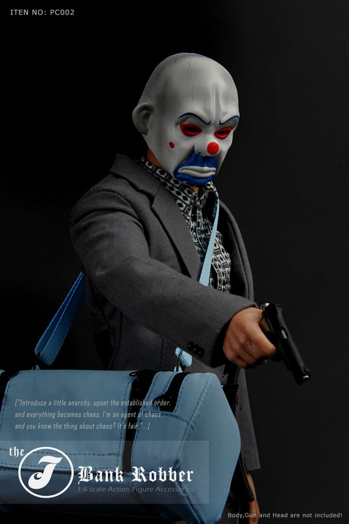 1/6 Scale Clown J Bank Robber Outfit