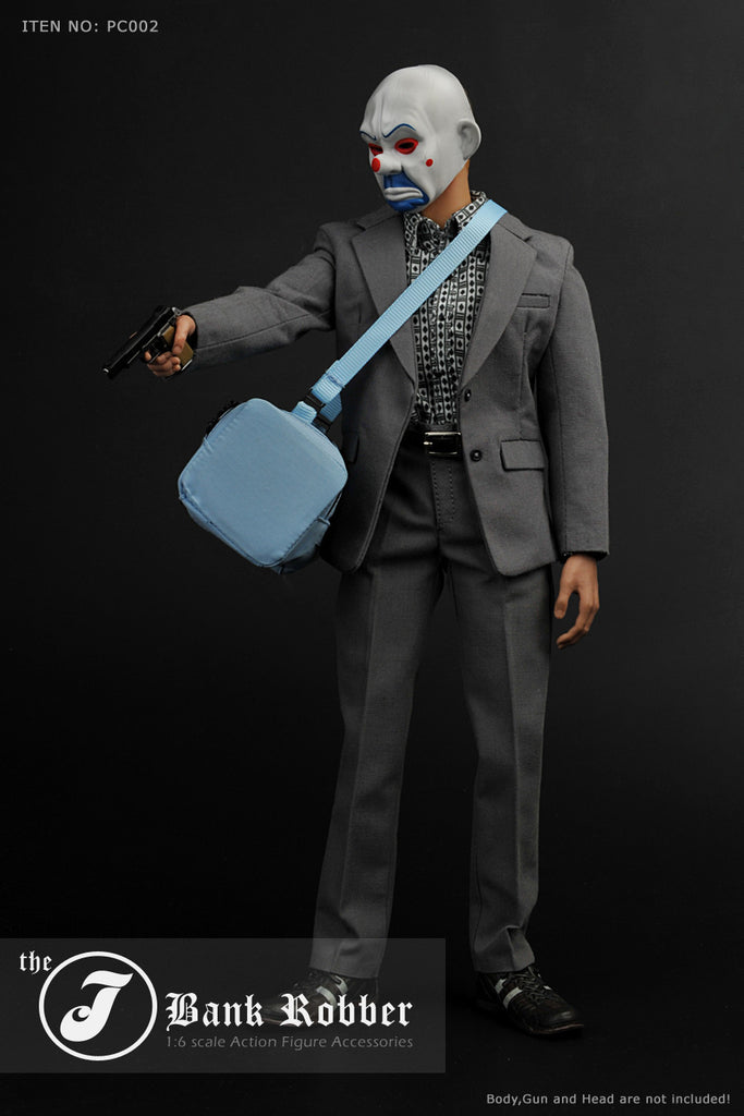 ... 1/6 Scale Clown J Bank Robber Outfit ... & 1/6 Scale Clown J Bank Robber Outfit u2013 One Sixth Outfitters