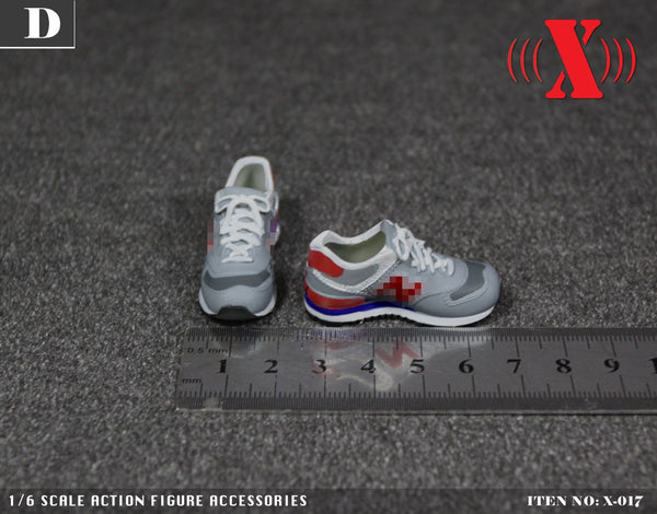 1/6 Scale Women's Sports Shoes (5 Colorways) by X Toys