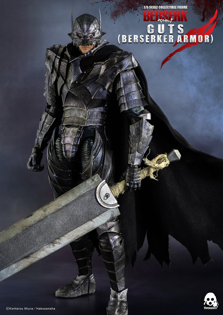 1/6 Scale BERSERK – Guts Figure (Berserker Armor) by Threezero