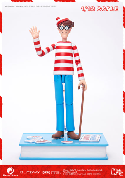 1/12 Scale Where's Wally? – Wally Figure (Normal Version) by Blitzway