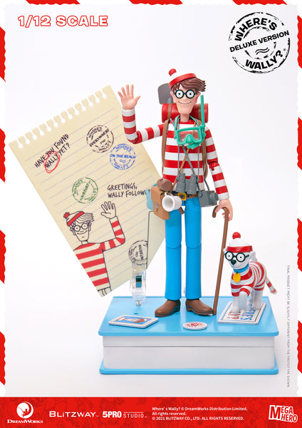 1/12 Scale Where's Wally? – Wally Figure (DX Version) by Blitzway