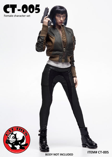 1/6 Scale Major Female Outfit Set CT-005 by Cat Toys