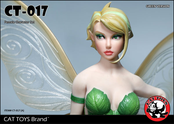 1/6 Scale Green Pixie Fairy Outfit Set by Cat Toys