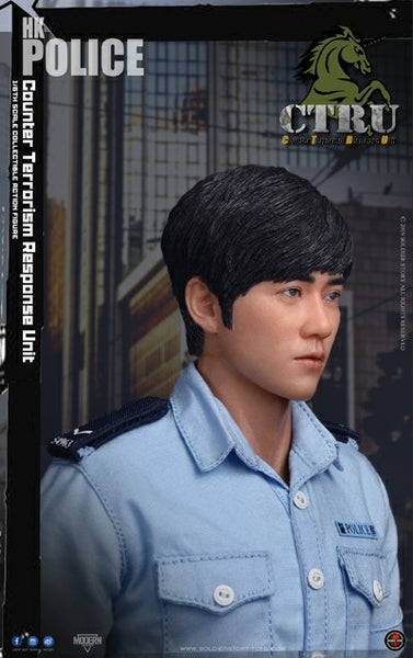 1/6 Scale HK Police CTRU (Assault Team) Figure (SS115) by Soldier Story