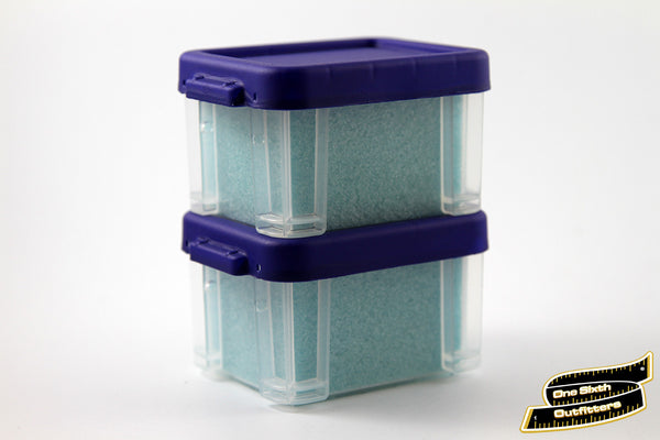 1/6 Scale Blue Sky Filled Plastic Container by One Sixth Outfitters